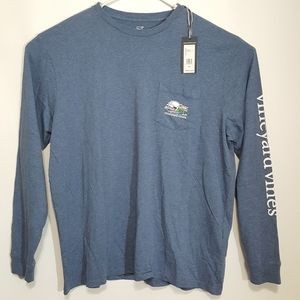 Vineyard Vines Men's Long Sleeve Shirt W/Pocket